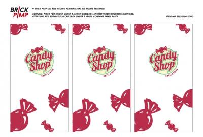 Candy Shop Fenster