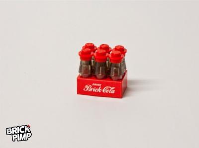 Brick Coca-Cola Kiste