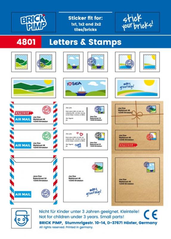 Letters & Postcards