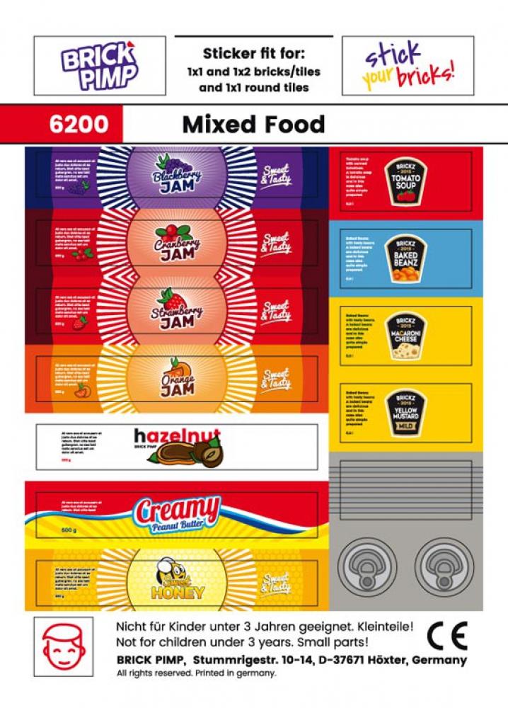 Jam, Honey, Mustard & more