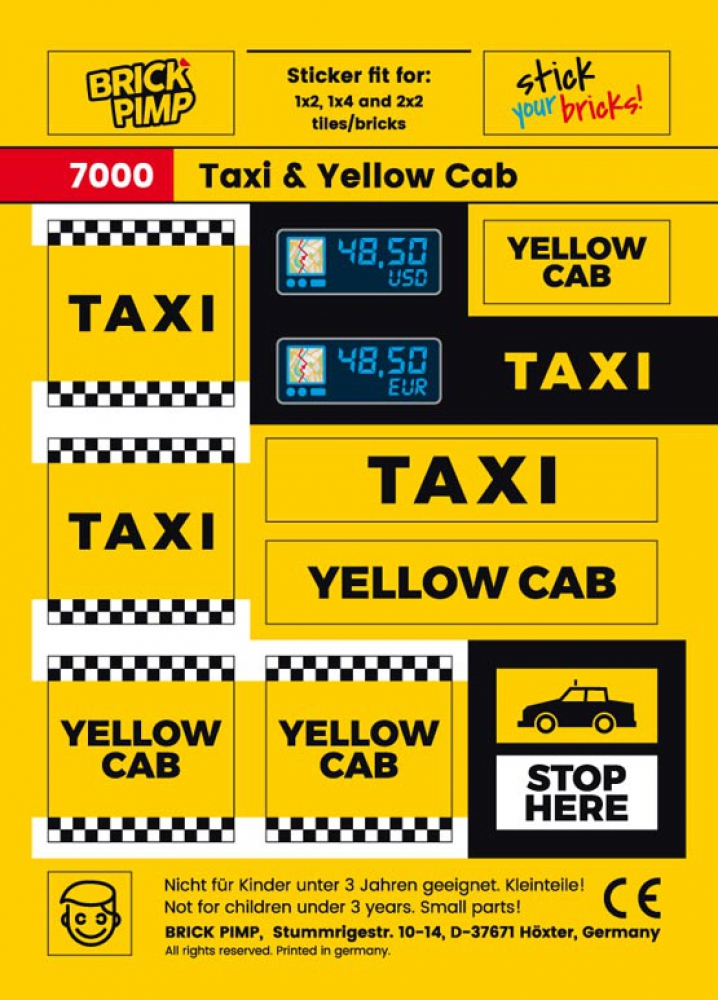 Taxi & Yellow Cab