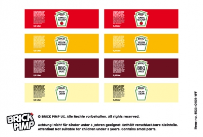 Heinz Ketchup, Senf & BBQ