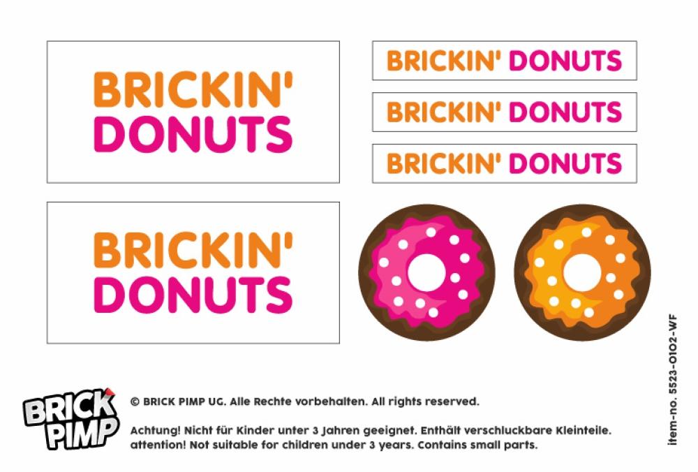 Dunkin Brickin Donuts Shop