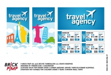 Travel agency & flight tickets