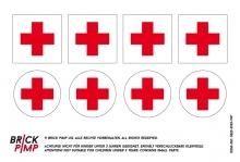 Rettungsschilder Rotes Kreuz