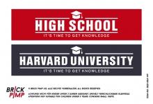 High School & Harvard University