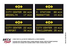 Bahnhof Central Station Timetable