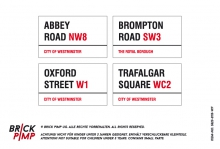 London Road Signs