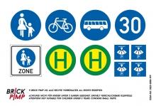 German Road Signs & Parking meter