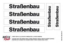 Straßenbau - German Road construction