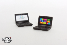 Laptop mit Windows & Google