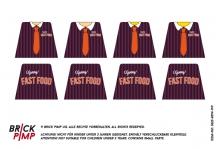 Fast Food Restaurant Uniform