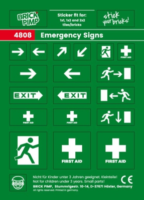 Emergency Signs I