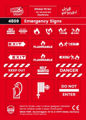 Emergency Signs II