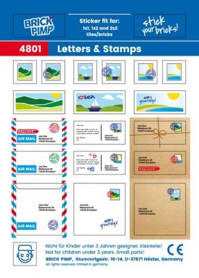 Briefe, Postkarten & Umschläge