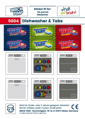Dishwasher & Tabs