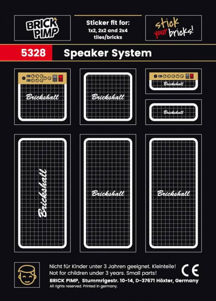 Boxen Speaker System