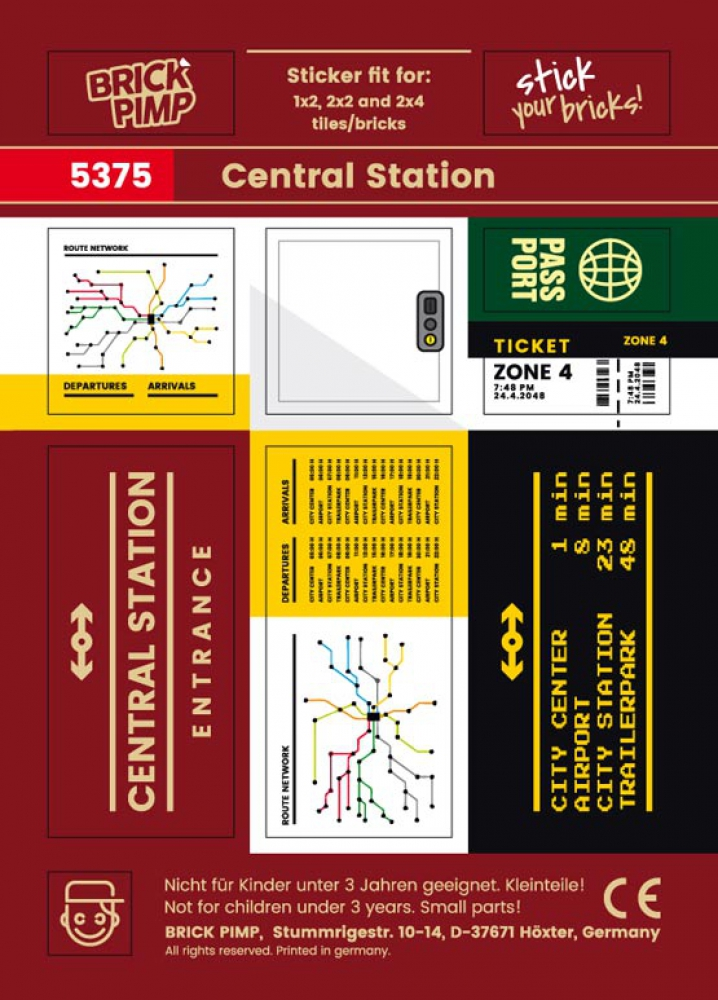 Central Station, Timetable & Tickets