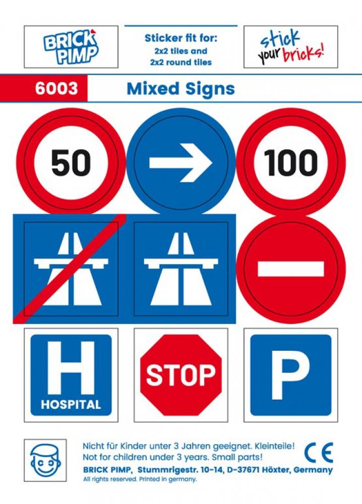 Mixed Road Signs