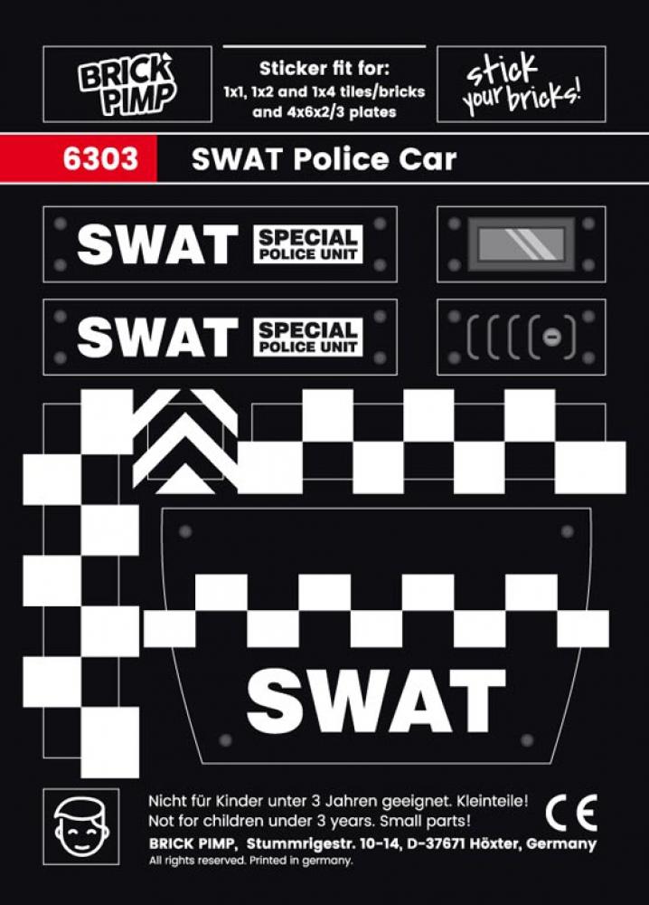 SWAT Police Car Pack
