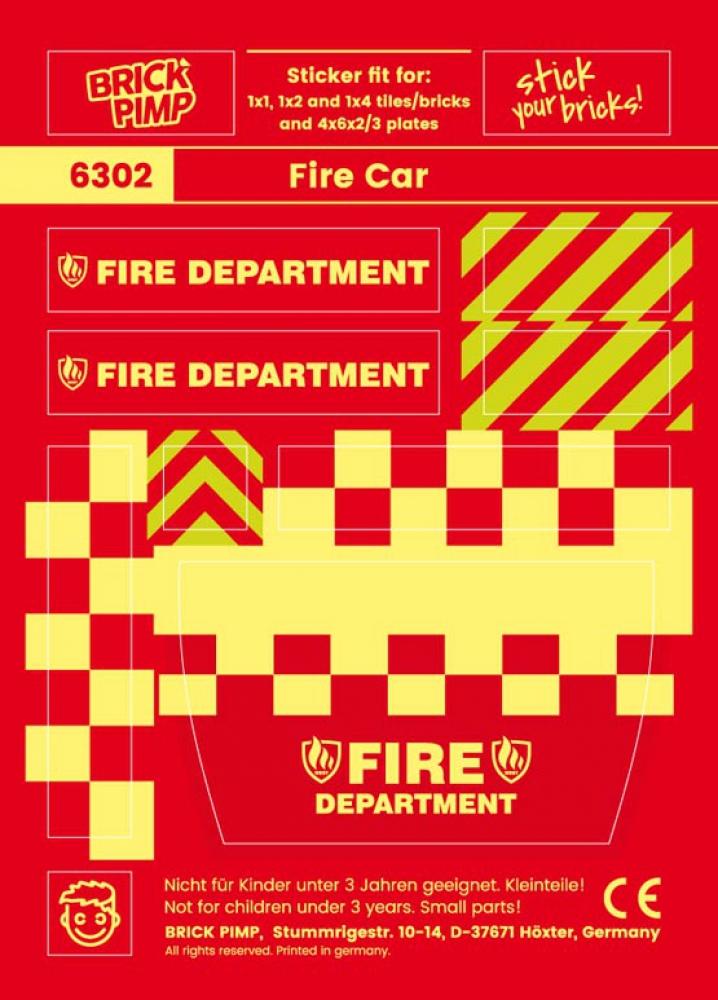 Feuerwehr Auto Pack