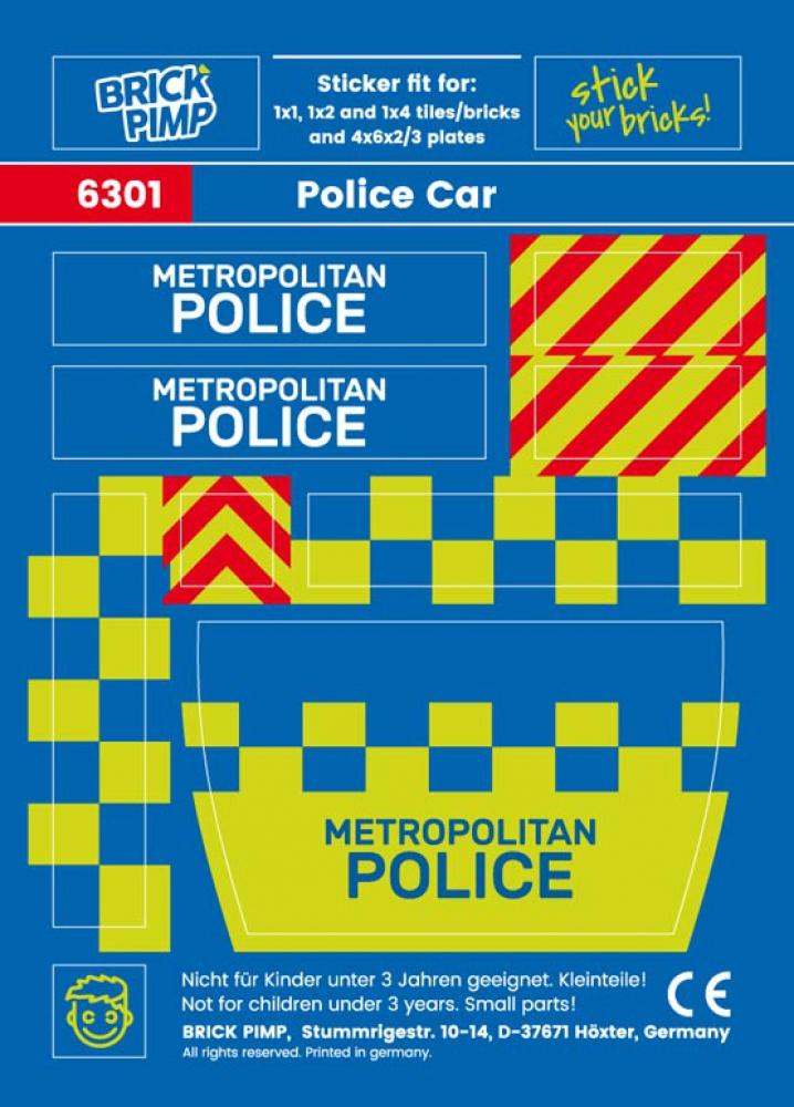 Metropolitan Police Car Pack