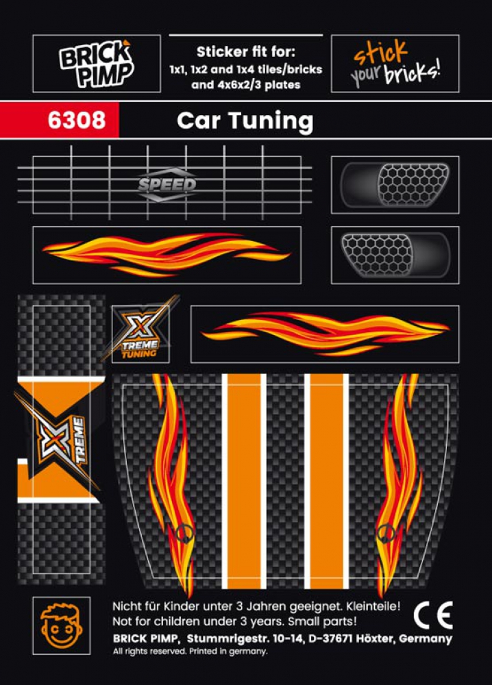 Xtreme Car Tuning Fire Pack