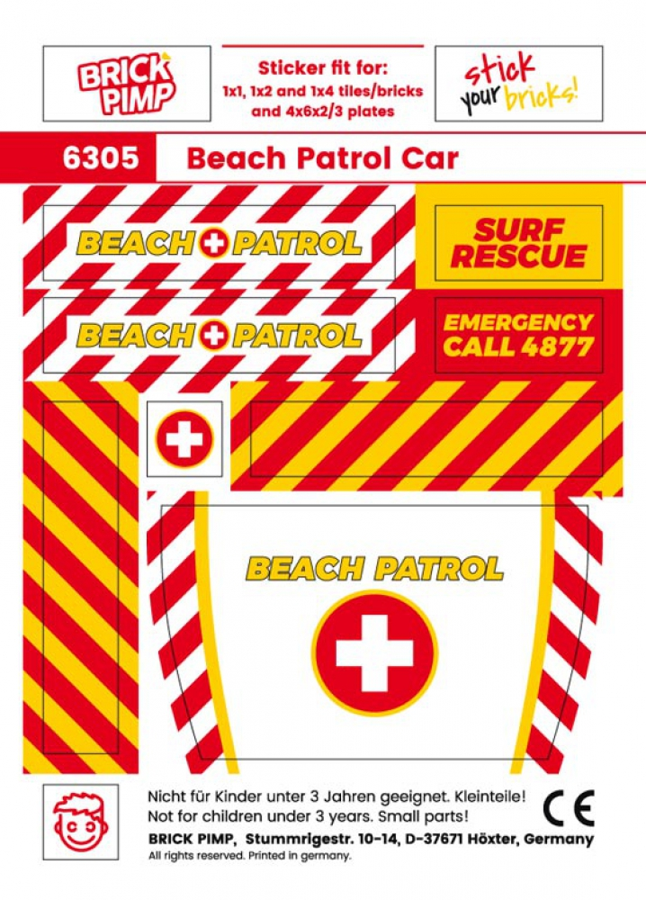 Beach Patrol Pack