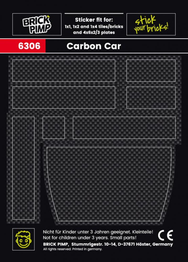 Carbon Look Pack