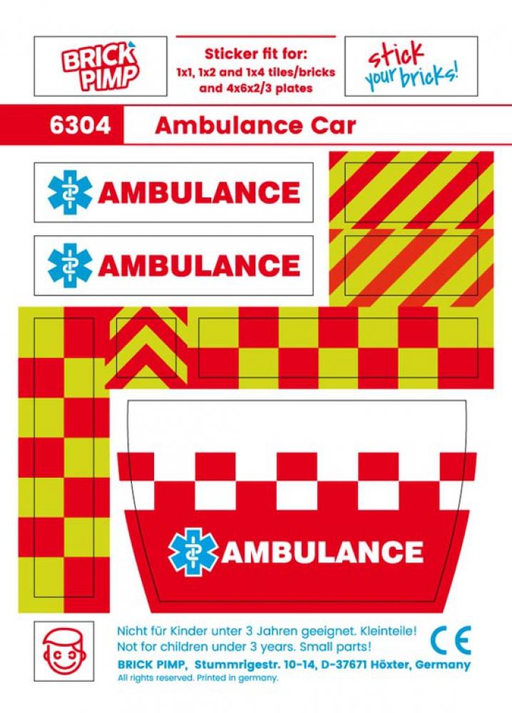 Ambulanz Car Pack