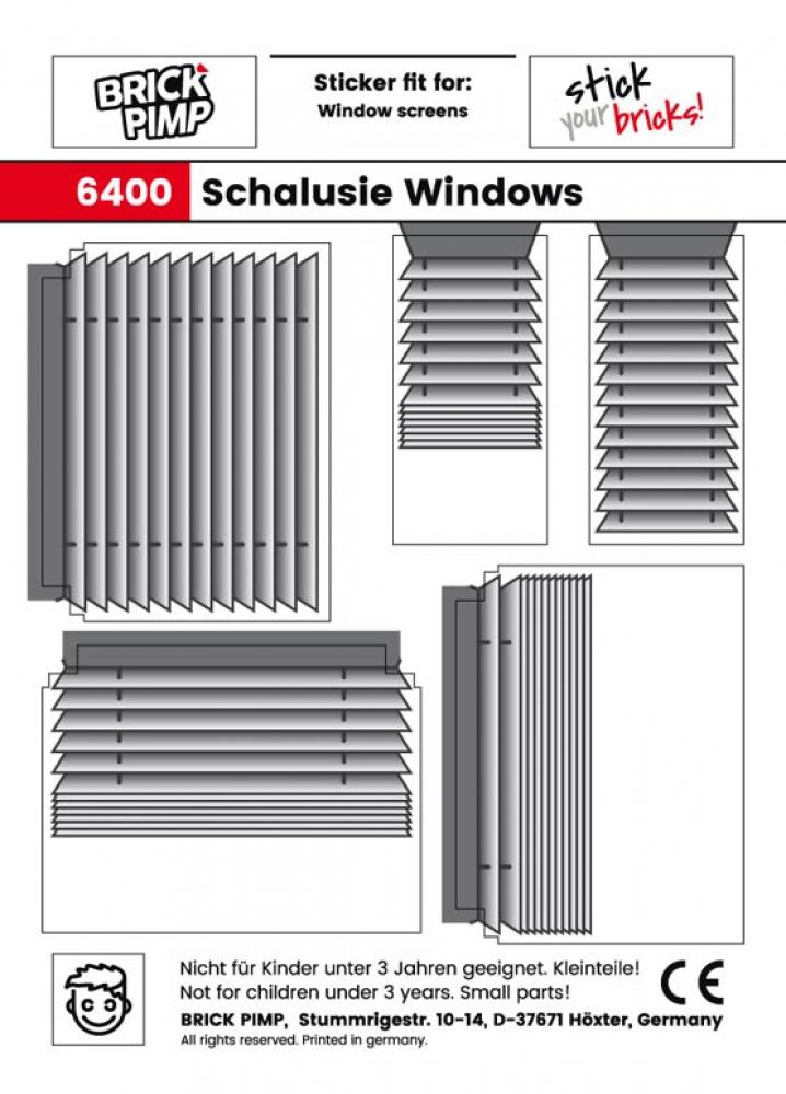 Schalusie Fenster