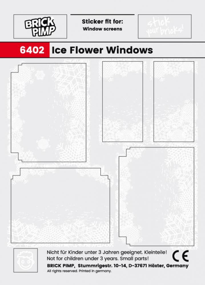 Eisblumen Fenster