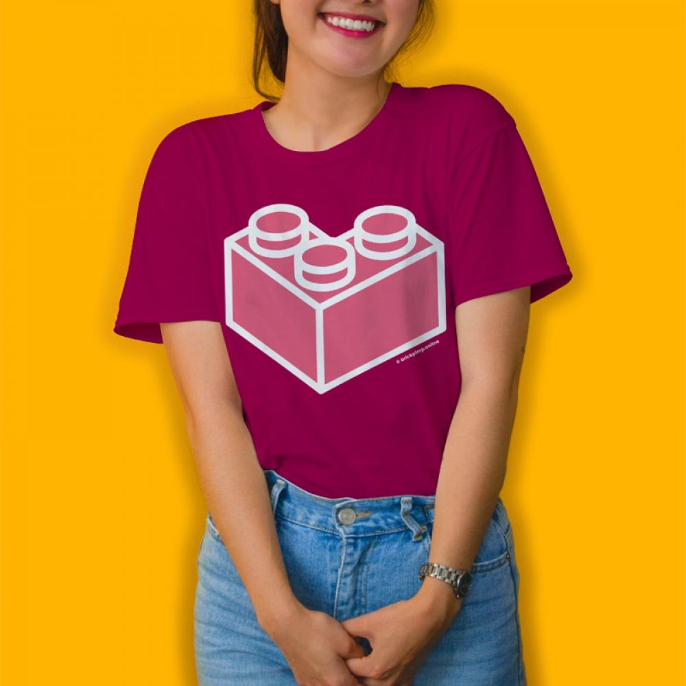 Simply Heart BRICK T-Shirt