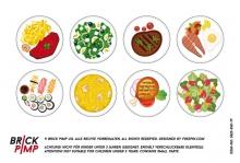 Speisen Teller